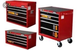 Halfords Professional 3 Piece Tool Box Chest Set **BRAND NEW**