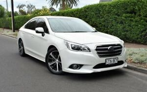 2014 Subaru Liberty B6 MY15 2.5i CVT AWD Premium White 6 Speed Constant Variable Sedan