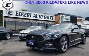 2017 FORD MUSTANG V6 LIKE NEW ONLY 3.100 KILOMETERS!!