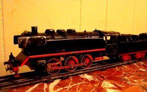 antique ensemble de train metal  allemand 1950 comme décoration