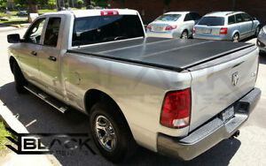 DODGE RAM QUAD CAB: Hard Tri-Fold Cover | Solid Fold Cover