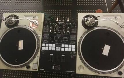 Technics 1200 Turntables - Pair (Mixer not included)