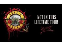 Slane - Guns n Roses tickets 27/05/2017 2 available £125 each