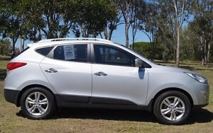 2011 Hyundai ix35 LM MY11 Elite AWD Sleek Silver 6 Speed Sports Automatic Wagon Bundaberg West Bundaberg City Preview