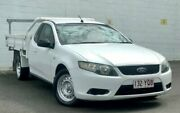 2009 Ford Falcon FG Super Cab White 5 Speed Sports Automatic Cab Chassis Ashmore Gold Coast City Preview
