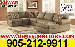 ASHLEY SECTIONAL SETS FROM AS LOW AS $799