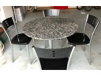 Used Dining table with 4 chairs,