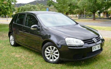 2008 Volkswagen Golf V MY08 Edition Tiptronic Black 6 Speed Sports Automatic Hatchback Cumberland Park Mitcham Area Preview