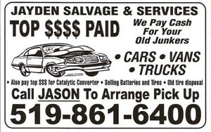 $Top Dollar Paid For Your Retired Rides,Old Junker,Farm Trucks$