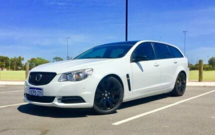 2014 Holden Commodore VF Evoke White 6 Speed Automatic Sportswagon Kenwick Gosnells Area Preview
