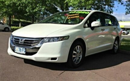 2012 Honda Odyssey 4th Gen MY12 White 5 Speed Automatic Wagon Invermay Launceston Area Preview