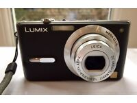 Lumix DMC-FX9 digital camera 6MP with case sd card and charger