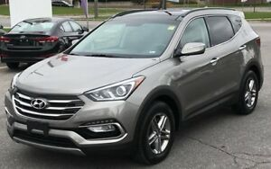 2017 Hyundai Santa Fe Sport SE AWD, LEATHER, ROOF,21KM