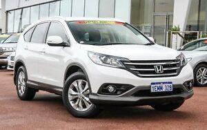 2014 Honda CR-V RM MY15 VTi-S 4WD White 5 Speed Sports Automatic Wagon Wangara Wanneroo Area Preview