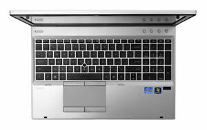 HP ELITEBOOK 8560p i7 Windows 10 with Dock