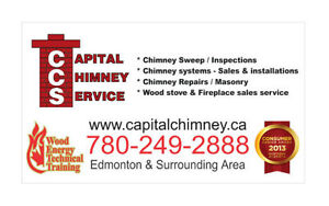 Chimney Sweep / WETT Inspection Edmonton Edmonton Area image 1