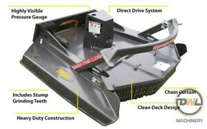 """DIGGA 72"""" EXTREME DUTY ROTARY AXE SKID STEER LOADER BOBCAT Austral Liverpool Area Preview"""