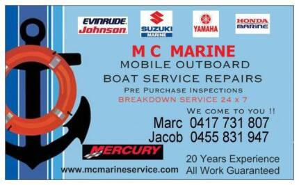 MOBILE OUTBOARD MARINE SERVICE REPAIRS