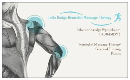 Leila Rudge Remedial Massage Therapy and Fitness