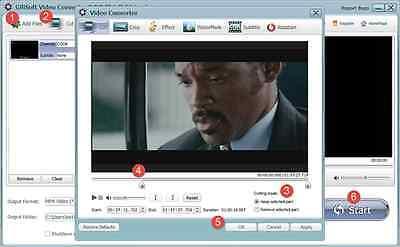 GiliSoft Video Converter video formats 3GP , MPEG , AVI , MP4 , FLV , ASF , M2TS Asf Mpeg Converter