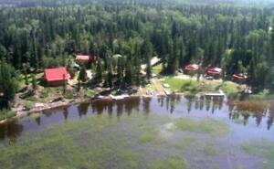 Lakefront House & Sm. Fishing Lodge for sale      $399,000.00