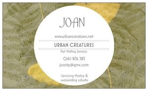 Urban Creatures Pet Visiting Service Morley Bayswater Area Preview