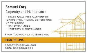 Carpentry and Maintenance - Small Jobs Walloon Ipswich City Preview