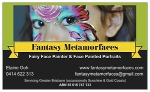 Professional Fairy Face Painter - Fantasy Metamorfaces Thorneside Redland Area Preview