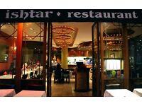 Waiter - Waitress Required for Restaurant in Baker Street