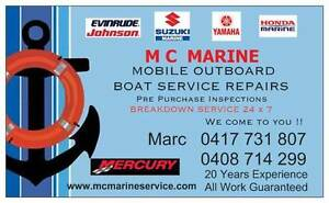 MOBILE HOME BOAT OUTBOARD REPAIR SERVICE MECHANIC Bundall Gold Coast City Preview