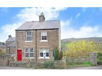 House for sale in Matlock, Derbyshire. Garage and parking to rear.