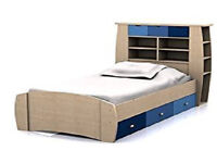 Sydney 3ft cabin bed with drawers and shelving