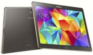 "Samsung Galaxy Tab S 10.5"" 16GB WiFi + 4G LTE (GSM UNLOCKED) SM-T805W Bronze Tablet"