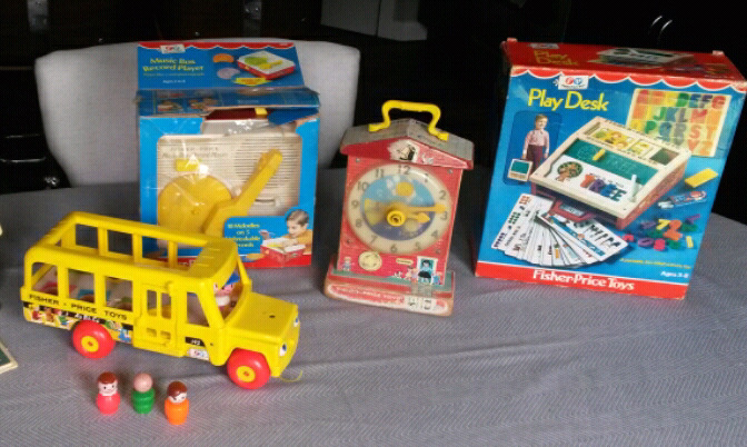Vintage Fisher Price Toys $20-$30