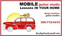 Guitar Lessons in Your Home....All Year Long!