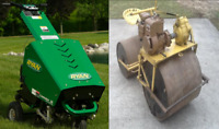 ** Lawn Rolling, Aerating, dethatching, fertilizing by student
