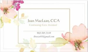 Home care/Respite Care - CCA Available