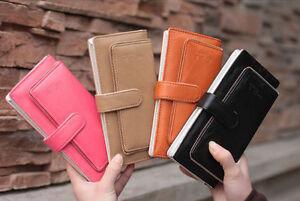 NEW-Womens-PU-Leather-Bifold-Wallet-Clutch-Bifold-Purse-Long-Handbag-Lady-Bag