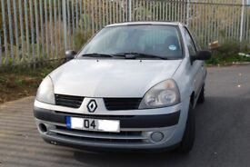 Clio Expression 1.2 16v petrol, 2004, LOW MILAGE