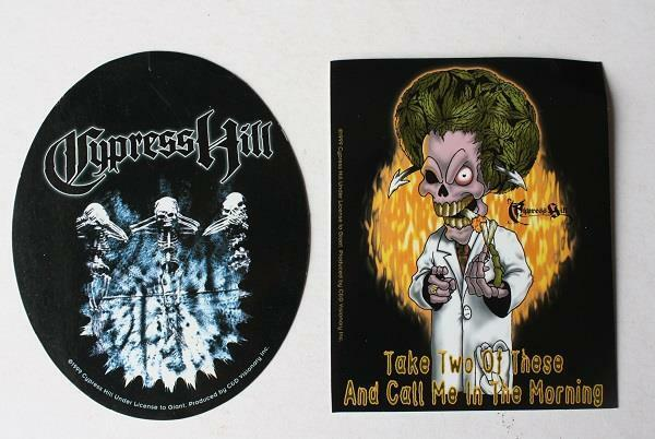 Cypress Hill Album Sticker Lot of 232 Stickers 2 Different Styles-Wholesale Lot