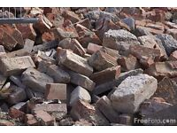 Wanted, field stones rubble bricks and blocks etc for creating a hard standing. Must be clean. Farm