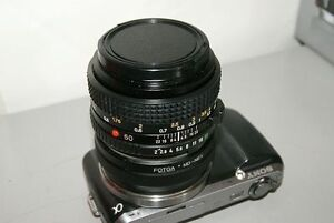 Minolta 50mm f2 manual lens WITH E or M43 adapter