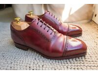 Meermin Mallorca Goodyear Welted Shoes 7 UK - Cherry - VGC