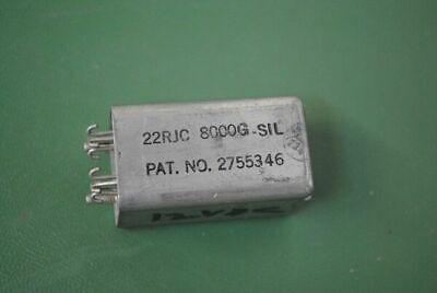 Sigma Instruments Relay 22rjc8000g-sil 5945-00-800-7179 8kilohms Hermetic