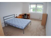 Large room for a COUPLE in recent refurbished, modern flat to share with two others