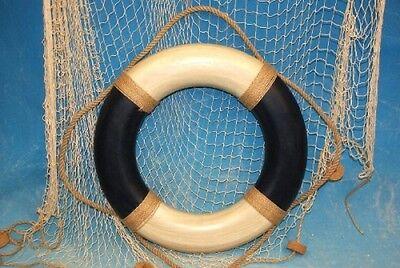 Deko-Rettungsring blau/creme Ø: 49 cm