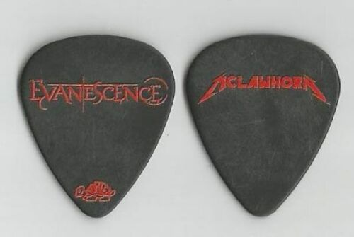 """EVANESCENCE = """"Troy McLawhorn"""" Signature guitar pick"""