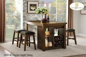 5 PC Counter-height Dining Set - Milton Sale (BD-2377)