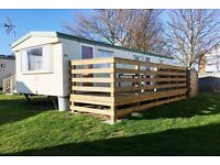 Holiday home caravan in Central beach Leysdown-on-sea for hire £250p/w