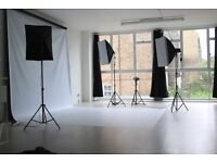 Photography Studio space hire in heart of Brixton from £20 per hour